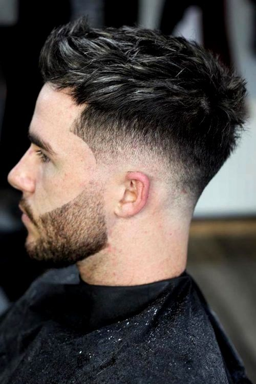 Men Short Haircuts Gallery In 2020 Mens Haircuts Short Faded Hair Mid Fade Haircut