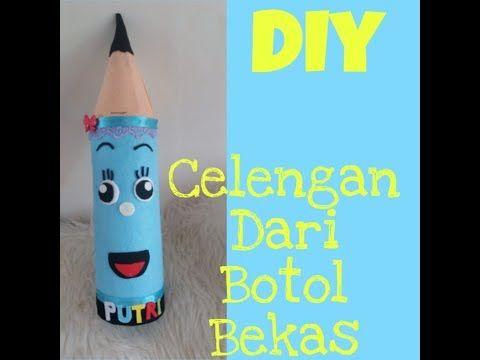 Diy Celengan Dari Botol Bekas Diy Bottle Plastic Craft Idea