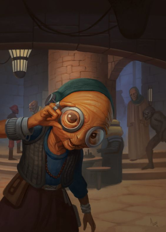 Maz Kanata - The Force Awakens by AlexandreLeoniART on DeviantArt: