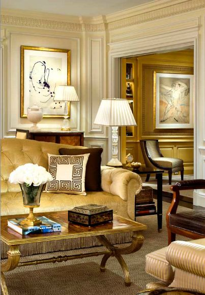 Beautiful home builder and hollywood on pinterest for Beautiful traditional living rooms