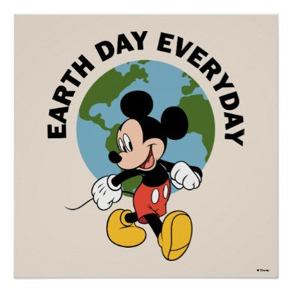 Mickey | Earth Day Everyday Poster