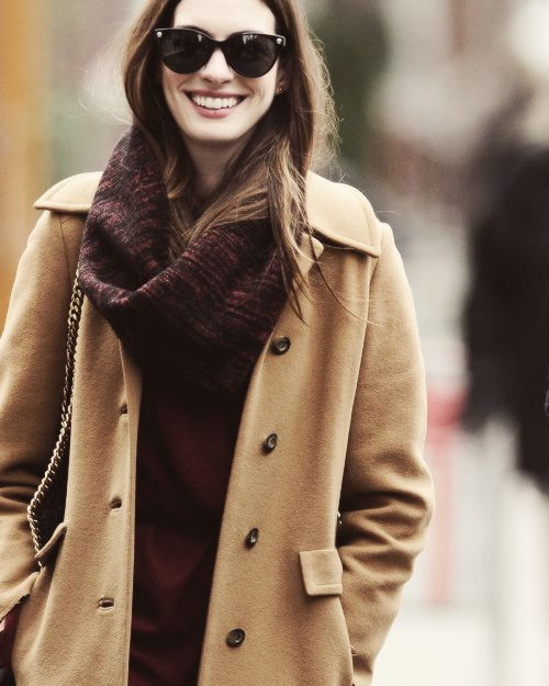 Anne Hathaway Trench Coat