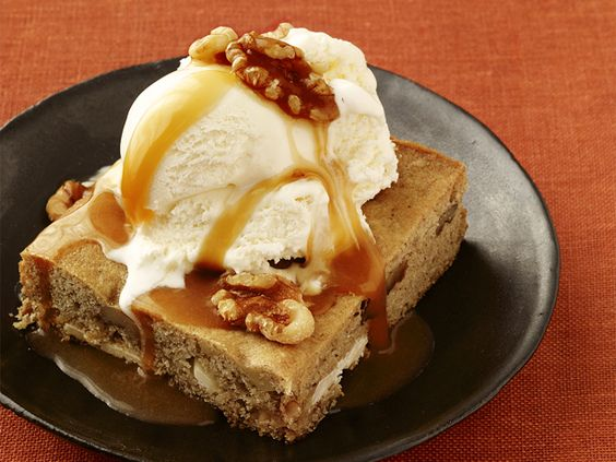 Almost-Famous Maple-Butter Blondies #BigGame