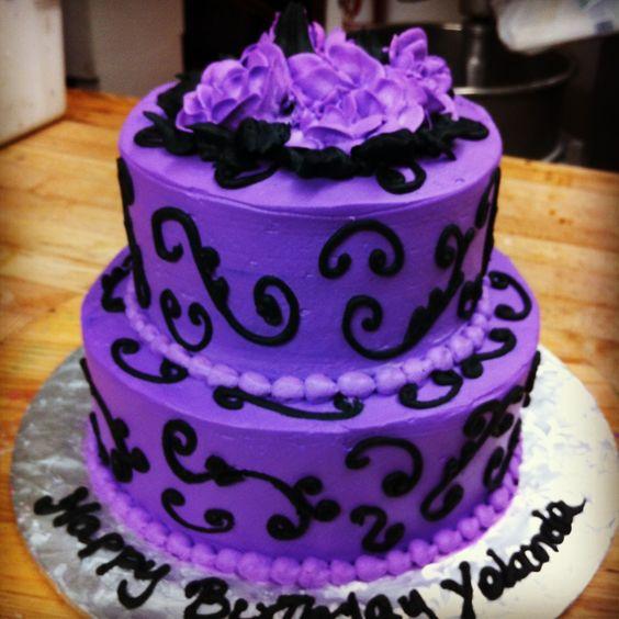 ... birthday lily birthday sis cake the cake purple birthday cakes bday