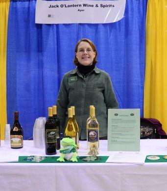 Kathy Seniw of Jack O'Lantern Wine & Spirits, Ayer (Taste of Nashoba 03/19/13)