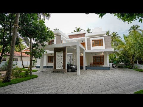 Brand New Eye Catching Double Story Home With Superb Interior Video Tour Youtube Bungalow Exterior House Designs Exterior Cool House Designs