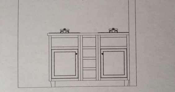Cabinetry layout