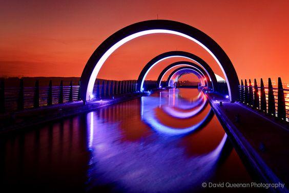 The Falkirk Wheel by David Queenan, via 500px