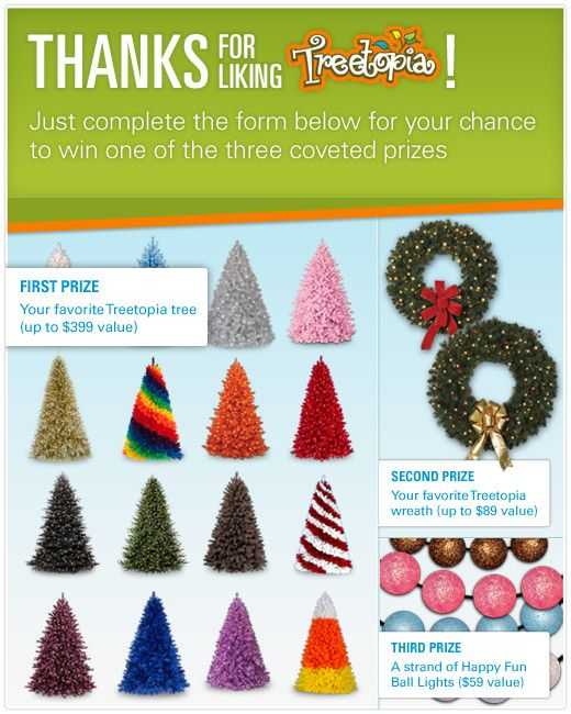 2012 Treetopia Favorite Tree Sweepstakes