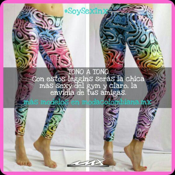 Si #Sexy es una palabra que te define estos leggins son para ti. Conoce más modelos modacolombiana.mx #Mexico #ModaColombiana