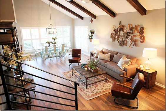 Fixer upper joanna gaines and beams on pinterest