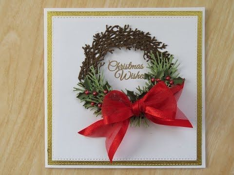 Reef WHITE COTTON CARDS To The Family Handmade Christmas Card Code fp39