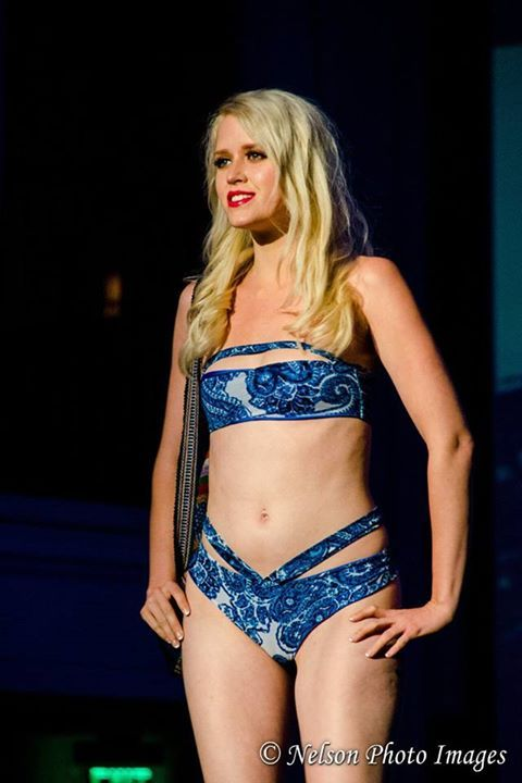 Crispy Bikinis Fashion Show at Blvd 3 in Hollywood, CALIFORNIA