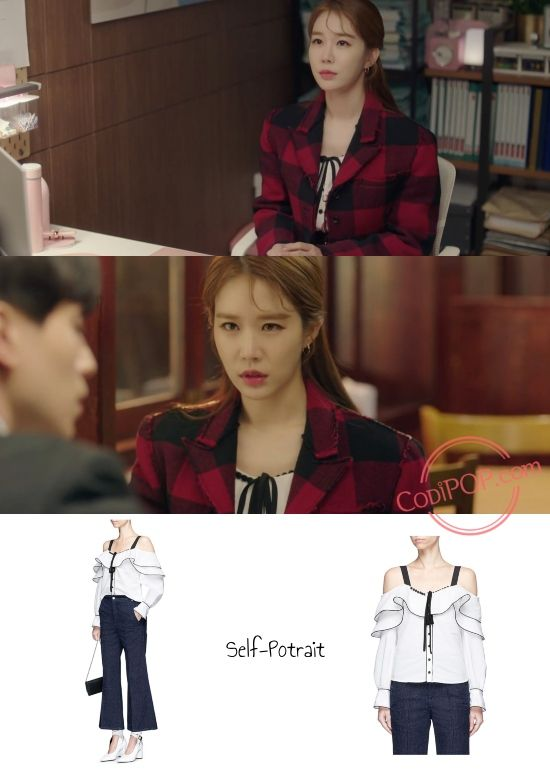 Yoo In na's Fashion in K Drama 'Touch Your Heart' Episode 5