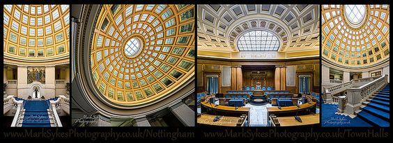 Inside Nottingham's Council House