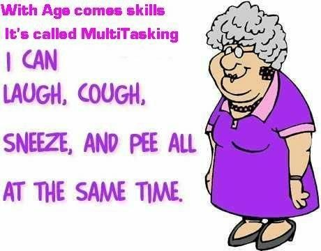 Multitasking with age
