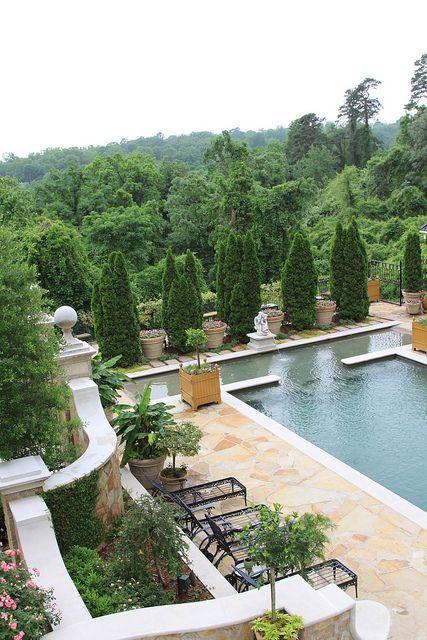 poolside loveliness my dream backyard