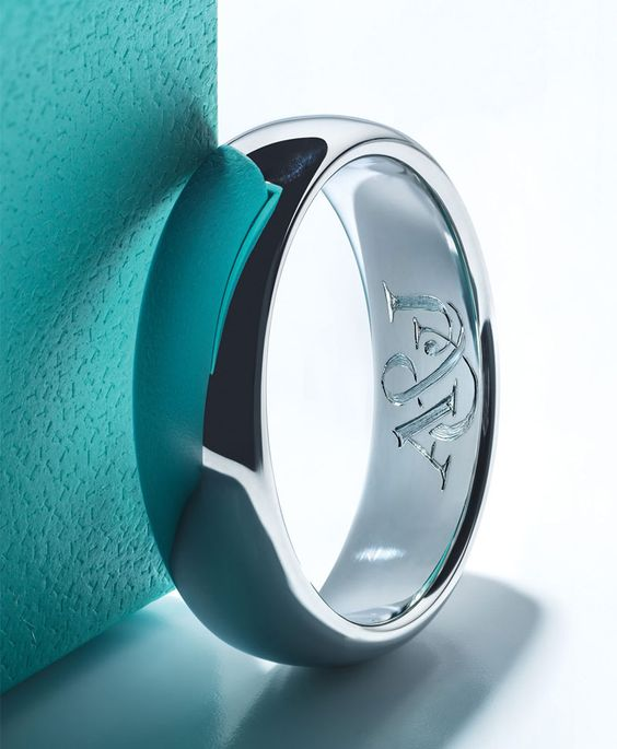 Make it personal. Whether initials, a favorite quote or secret message known only to you and your beloved, Tiffany engraving adds a personal touch to an engagement ring or wedding band. #WillYou