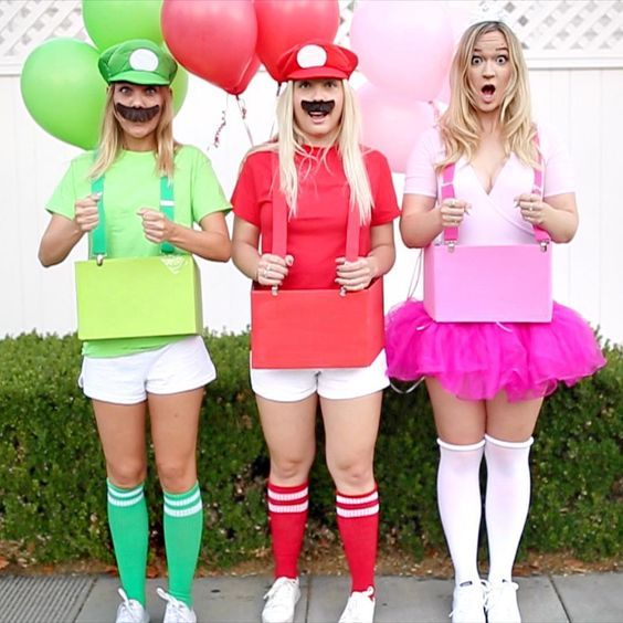 35+ Halloween Costumes For Three Girls Images