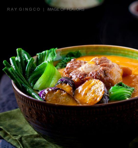 Oxtail Kare Kare (Filipino Oxtail Peanut Stew)