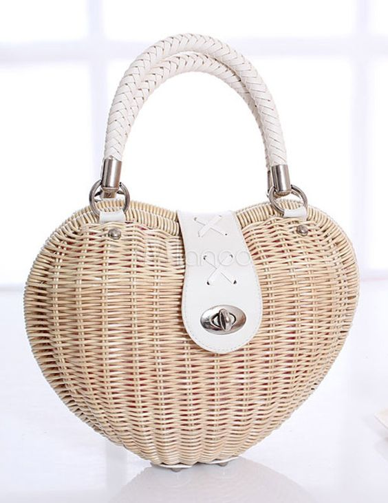 Unique Wicker and Rattan Chic Tote Bag for Women - Milanoo.com: