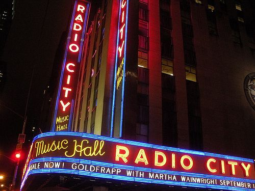 Radio City Music Hall NYC; 12 September 2008 (Goldfrapp with Martha Wainwright) Excerpt from www.christianmontone.blogspot.com/  www.facebook.com/christian.montone/