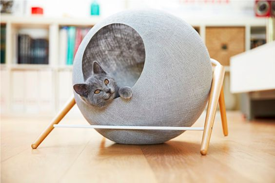 meyou cat ball in light grey