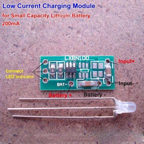 Mini Small Capaciy 3 7v Lithium Battery 18650 4 2v Charging Board Charger Module Lithium Battery Battery Charger