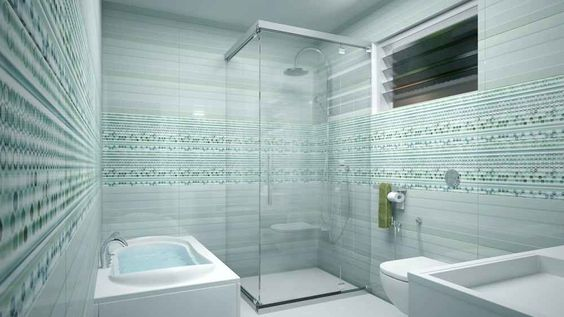 Master Bathroom With Shower Enclosure Design By M S Monnaie Interior Designers Pvtltd Designer In Palakkad Kerala India