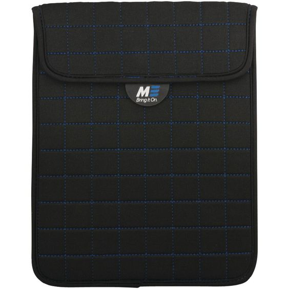 """Mobile Edge 7"""" Neogrid Tablet Sleeves (black With Blue Stitching)"""