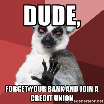 Yes, join My Community Bank and reap the benefits of a member focused credit union... http://www.mycommunitybank.co.uk/ #credit #bank