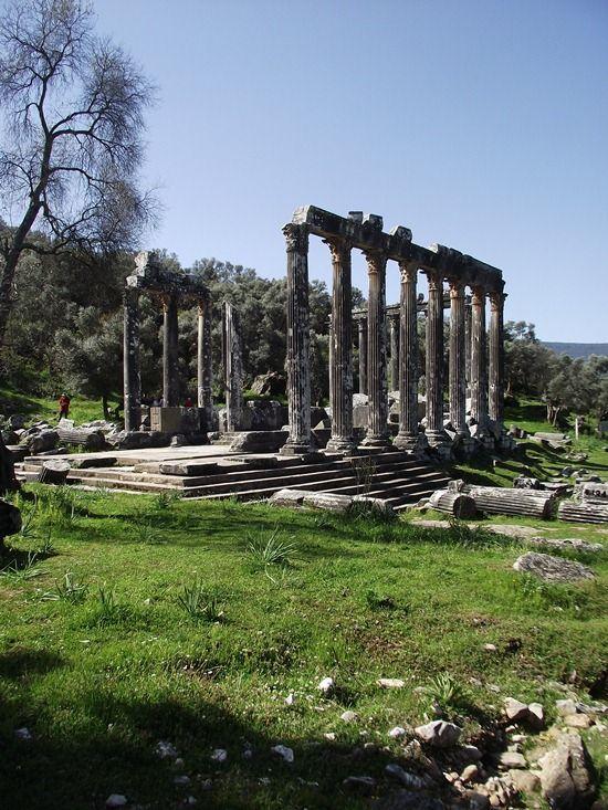 Templo de Zeus Karios, Milas, Turquía