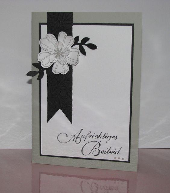 Beileidskarte, Condolence card, Sympathy card