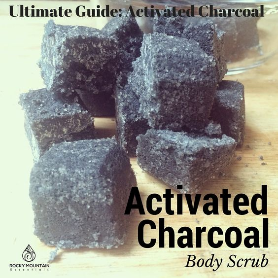 How to Use Activated Charcoal - Gold Mountain Beauty