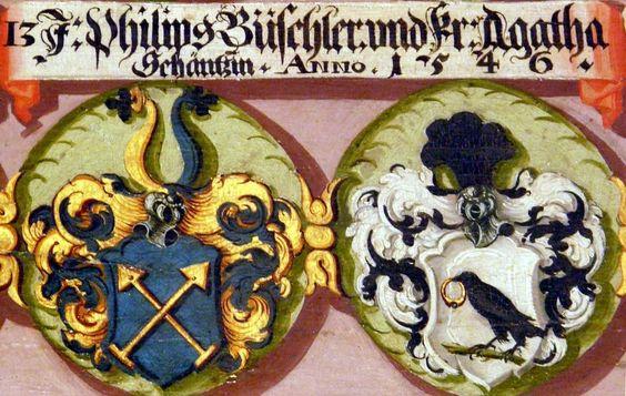 rothenburg ob der tauber - Wappen Hornburger: Geschlechterbuch des Johann Friedrich Christoph Schrag (1703-1780), Bearbeitung von Karl Borchardt 2007