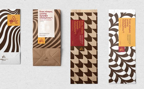 Albus Bakeries visual identity on Behance