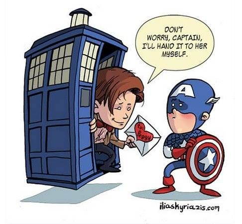 I am not a dr who fan or know much about it but I do get this. @sem529