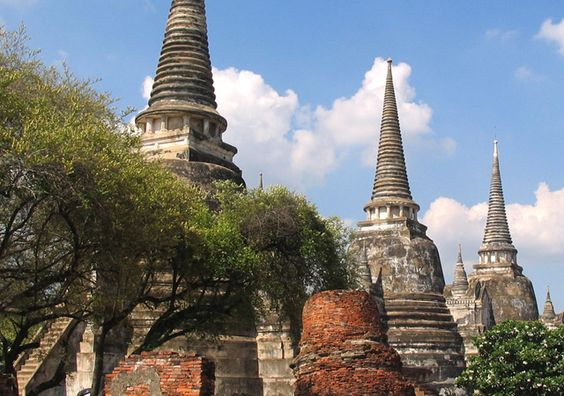 photos of ancient thailand | ... City, temples of ancient Thailand capital | Thailand best hotels