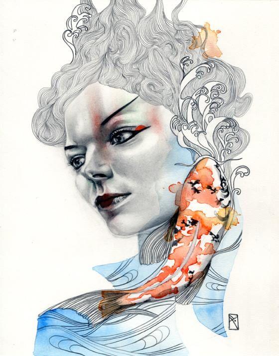 Illustrations by Patricia Ariel behance l tumblr l shop