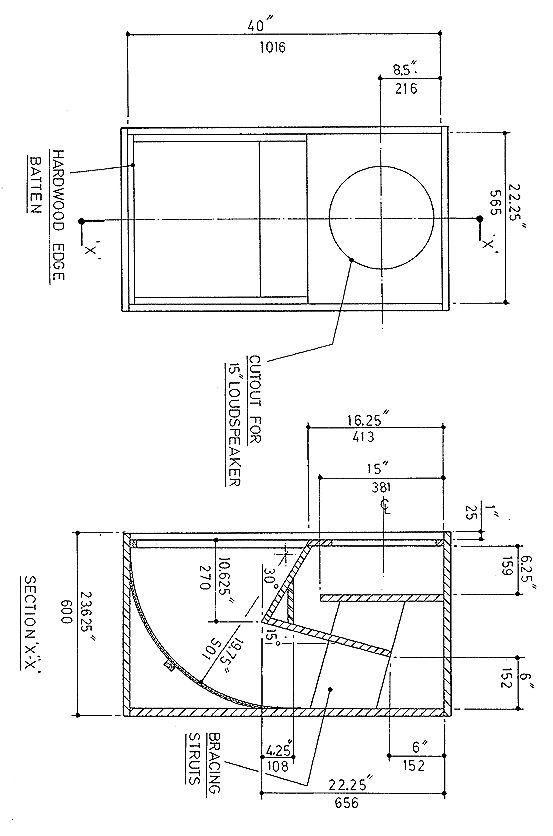 6deaf734a4aacd95693fb9dd10d127e6 subwoofer box design audiophile subwoofer box design for 18 inch google search audio speaker box diagram at reclaimingppi.co