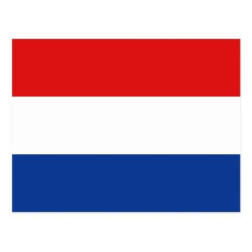 Netherlands Flag Postcard Zazzle Com In 2020 Dutch Flag Netherlands Flag Postcard