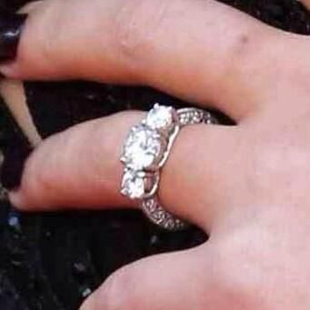 Perrie Edwards Wedding Ring Cost