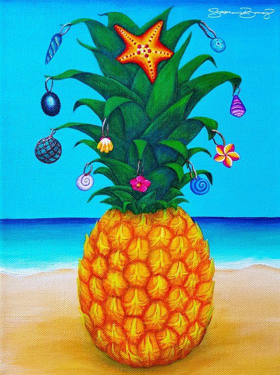 Pineapple Christmas Tree