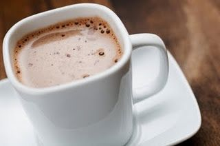Creamy Hot Chocolate... YUM!
