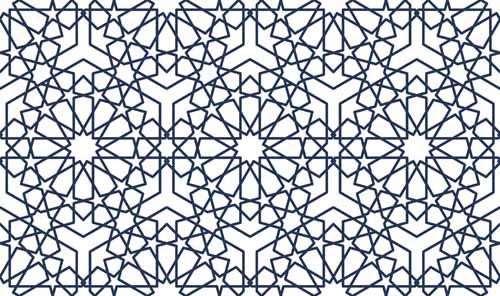 زخارف هندسية ا سلامية Geometrical Islamic Ornaments Pattern Quilts Blanket