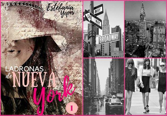 Ladronas de NY_collage