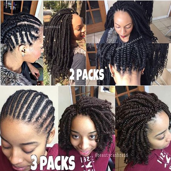Ten Natural Hair Winter Protective Hairstyles Without Extensions Natural Hair Styles Hair Styles Curly Hair Styles