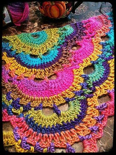 Virus shawl Applique Pinterest Patterns, In color ...