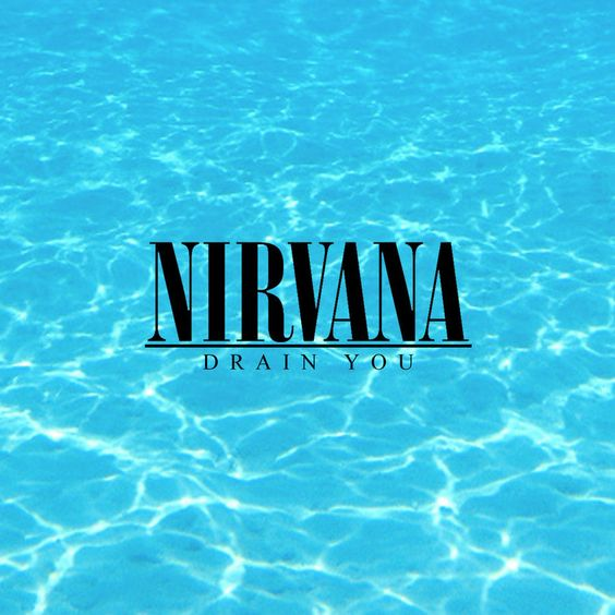 Nirvana – Drain You (single cover art)