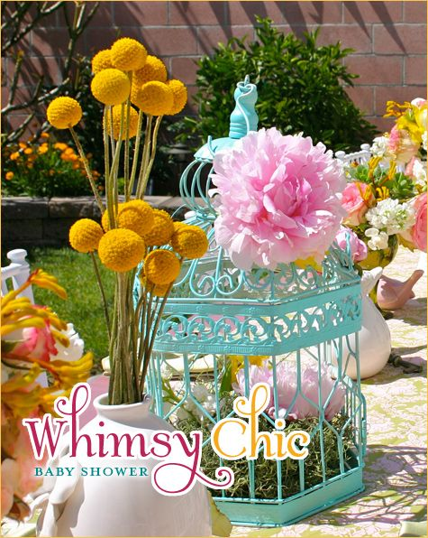 REAL PARTIES: Shabby Chic Baby Shower
